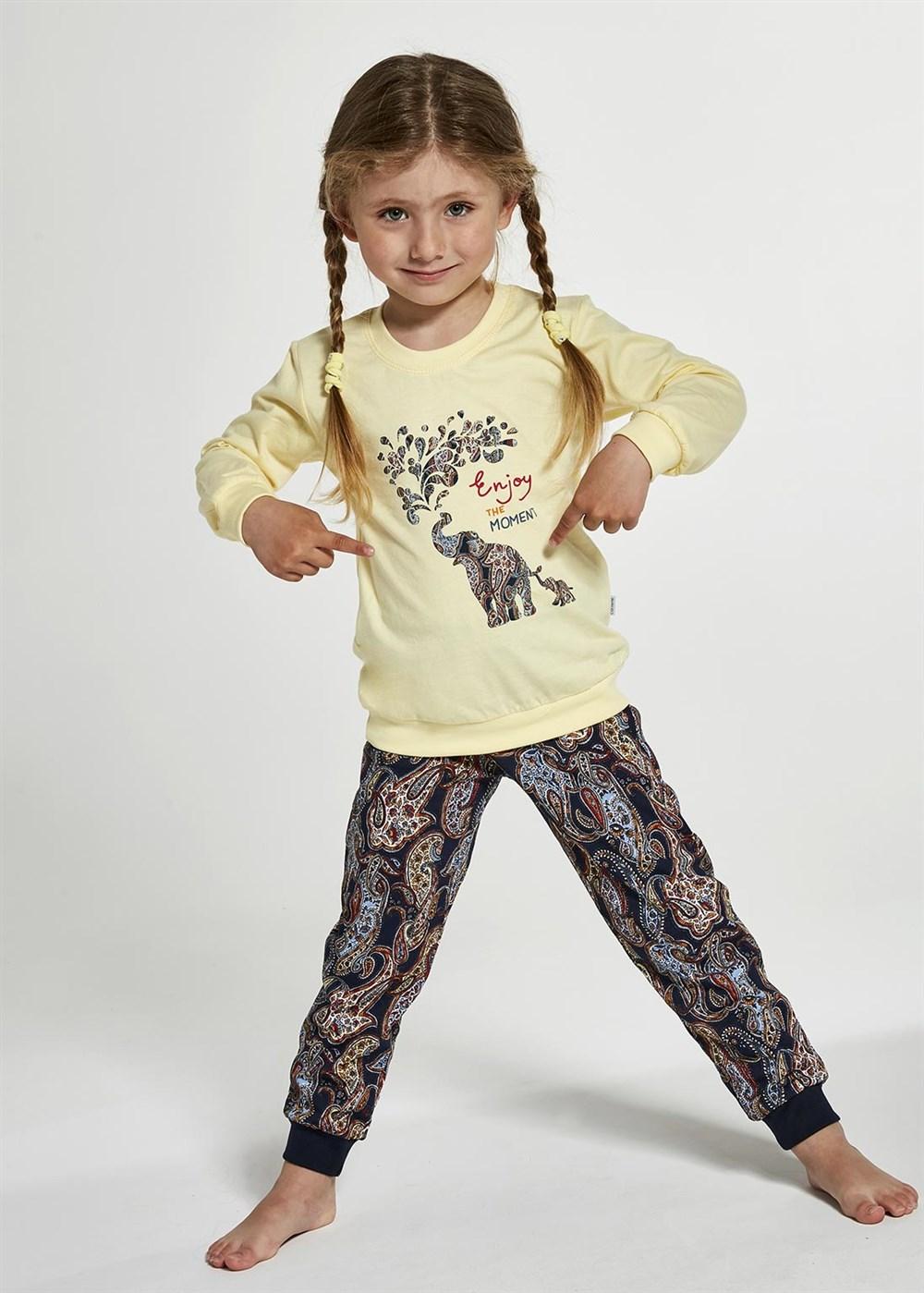 """Dívčí pyžamo Cornette """"ELEPHANTS"""" Young 592/133"""