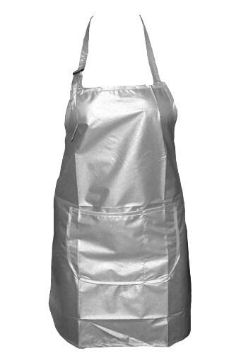 SALON Komplet Zástěra kadeřnická střihací - šedá
