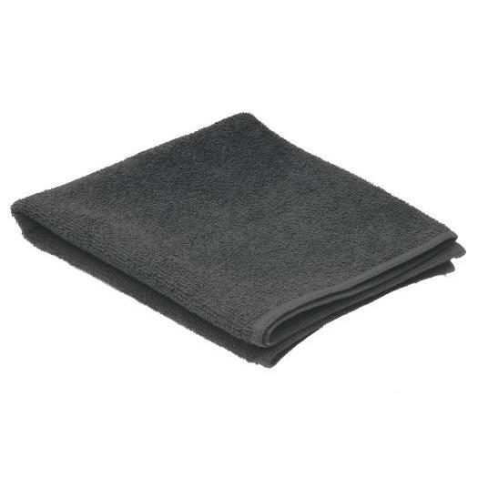 SIBEL Invincible Black kadeřnický ručník froté 80x50cm, 100% bavlna - černý