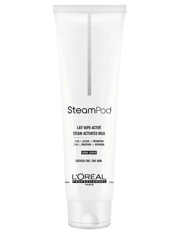 LOREAL Professionnel SteamPod Smoothing Milk 150ml - mléko pro ochranu a regeneraci vlasů