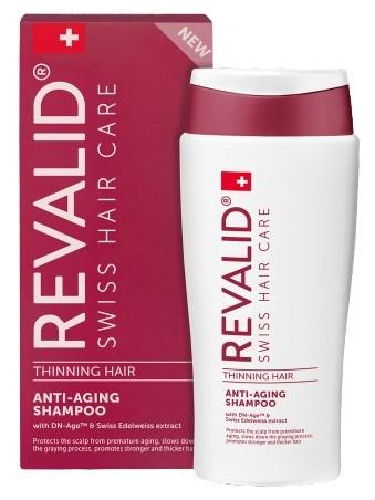 REVALID Thinning Hair Anti-Aging Shampoo 200ml - šampon proti šedivění a stárnutí vlasů