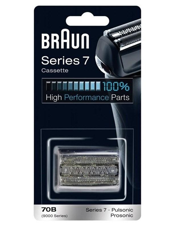 BRAUN Series 7-70B CombiPack Black - náhradní planžeta pro strojky Braun Series 7 - černá