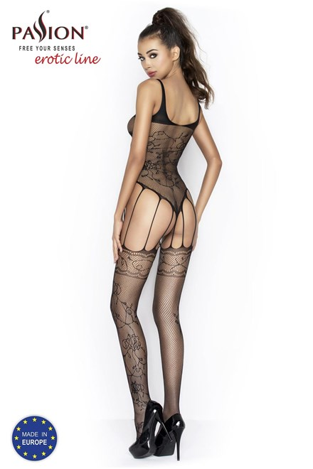 Passion BS034 red - Bodystocking