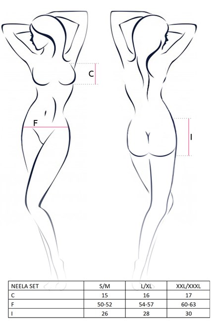 Erotický komplet Avanua Neela