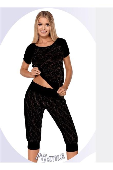 Pyžamo Hamana Thelma black