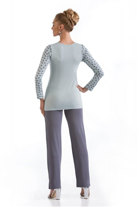 Dámské pyžamo Donna Tina dl.rukáv