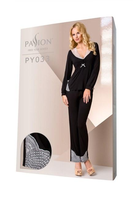 Dámské pyžamo Passion PY033 viskoza