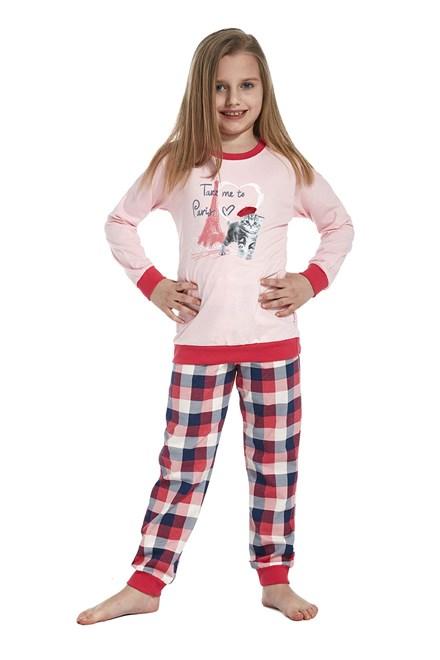 "Dívčí pyžamo Cornette ""Take me to paris"" KIDS 594/74"