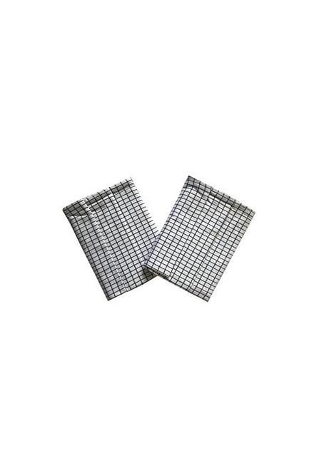 Utěrka Extra savá Drobná kostka bílo/černá - 3 ks