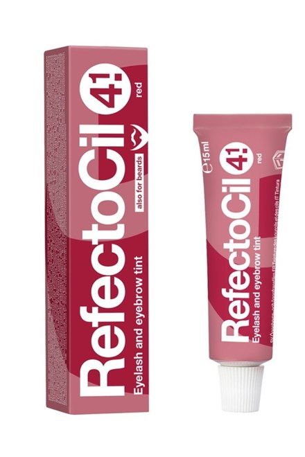 REFECTOCIL č.4,1 RED - Profesionální barva na řasy, obočí a vousy 15ml - Červená