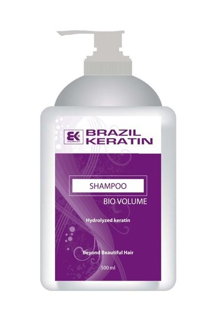 BRAZIL KERATIN Bio Shampoo Volume keratinový šampon pro větší objem vlasů 500ml