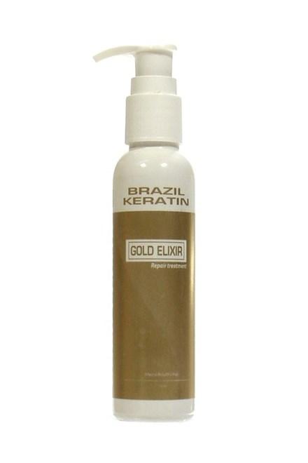 BRAZIL KERATIN Gold Elixir Repair Treatment - regenerační keratinová péče 50ml