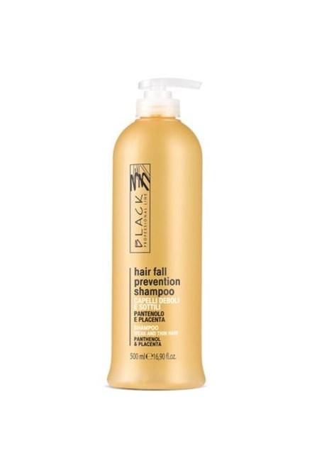 BLACK Péče o vlasy Hair Loss Shampoo placentový šampon na vlasy 500ml