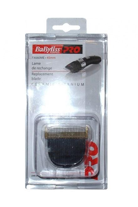 BABYLISS PRO FX660ME Ceramic Titanium 45mm - náhradní střihací hlavice pro strojky FX660
