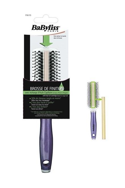 BABYLISS Paris Brosse De Finition - kartáč na vlasy s Arganovým olejem - fialový