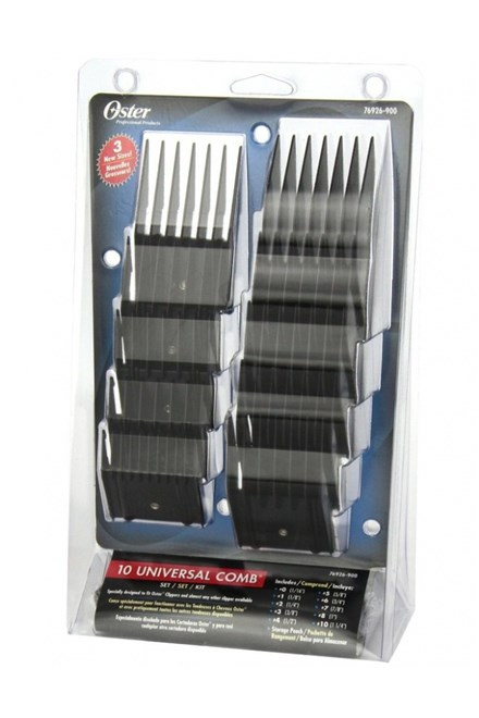 OSTER 76926-900 Sada 10ks plastových nástavců pro strojky Oster 616-91, 606-95 a 97-44