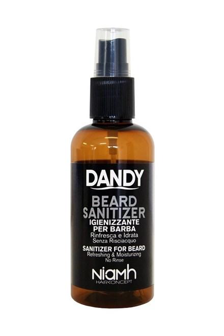 DANDY Sanitizer 100ml - Bezoplachová ochrana vousů, bradky a kníru