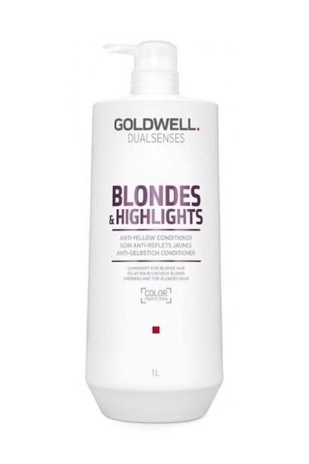 GOLDWELL Dualsenses Blondes And Highlights Conditioner 1000ml - neutralizuje žluté odstíny