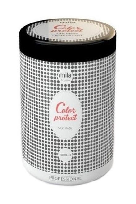 MILA Hair Cosmetics Color Protect Silk Mask 1000ml - maska s hedvábím na barvené vlasy