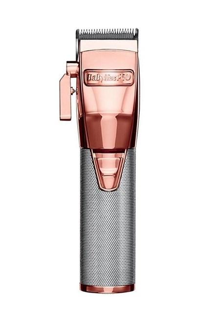 BABYLISS PRO FX8700 RGE Profesionální stříhací strojek na vlasy aku-kabelový 45mm - růžovo stříbrný