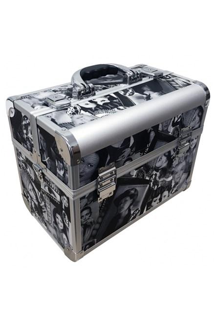 ALU kufr Superstar Profesionální kadeřnický kufr ve stylovém designu