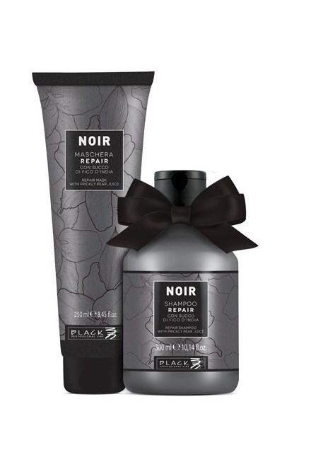 BLACK Noir Beauty Gift - Repair Shampoo 300ml + Repair Maschera 250ml - dárkový balíček