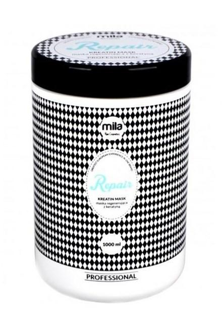 MILA Hair Cosmetics Repair Keratin Hair Mask 1000ml - keratinová maska na vlasy