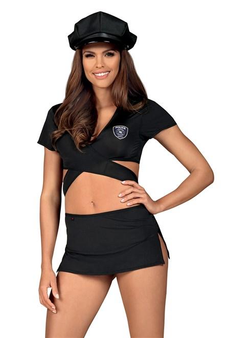 Kostým Obsessive Police uniform