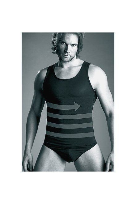 Zeštíhlující pánské triko Mitex Body Perfect 170/180