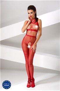 Bodystocking Passion BS048 red