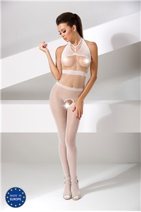 Bodystocking Passion BS048 white