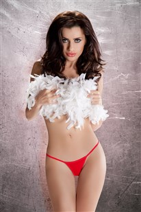 Dámská erotická tanga Passion MT012 červené