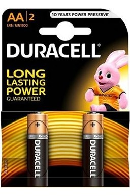 Baterie Duracell Basic AA 2 ks