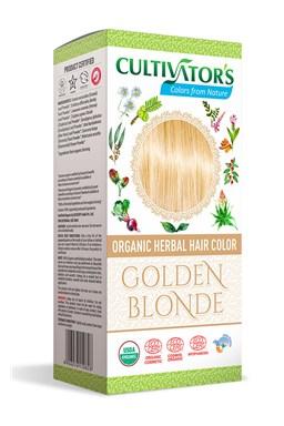 CULTIVATOR 100% přírodní Barva na vlasy 1 - Zlatá Blond