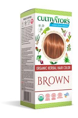 CULTIVATOR 100% přírodní Barva na vlasy 7 - Hnědá