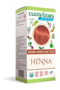 CULTIVATOR 100% přírodní Barva na vlasy 19 - Henna
