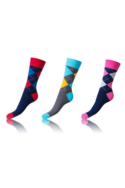 Ponožky 2+1ks CRAZY SOCKS BE481004-307