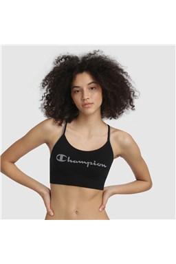 Sportovní podprsenka CHAMPION CROP TOP SEAMLESS FASHION, černá