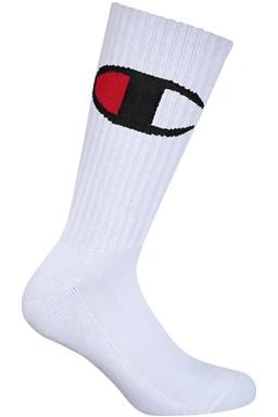 Ponožky CREW SOCKS ROCHESTER BIG C, bílé