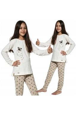 """Dívčí pyžamo Cornette """"PUG"""" Kids 382/134"""