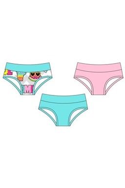 Dívčí kalhotky Cornette girls 805/28(806/28) - 3ks v balení kids, young