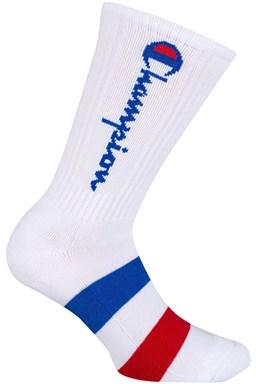 Ponožky CHAMPION CREW SOCKS ROCHESTER AUTHENTIC, bílé