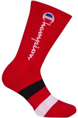 Ponožky CHAMPION CREW SOCKS ROCHESTER AUTHENTIC, červené