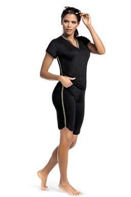 Dámské pyžamo Hamana Argo SET 3/4 black