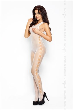 Bodystocking Passion BS003 bílá