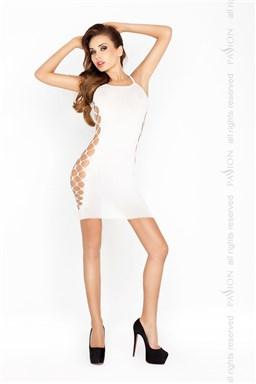 Erotické šaty Passion BS026 bílá