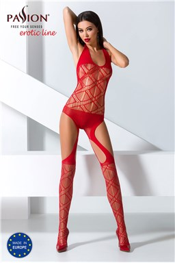 Bodystocking Passion BS060 red