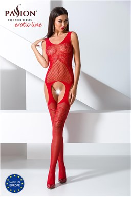 Bodystocking Passion BS061 red