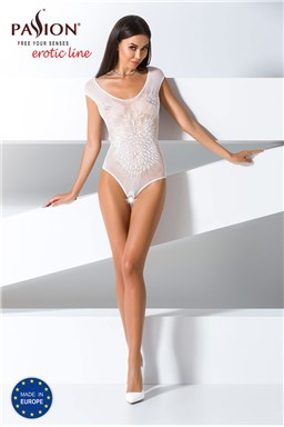 Bodystocking Passion BS064 white