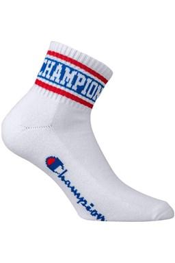 Ponožky CHAMPION ANKLE SOCKS Rochester Old School, bílá - červená